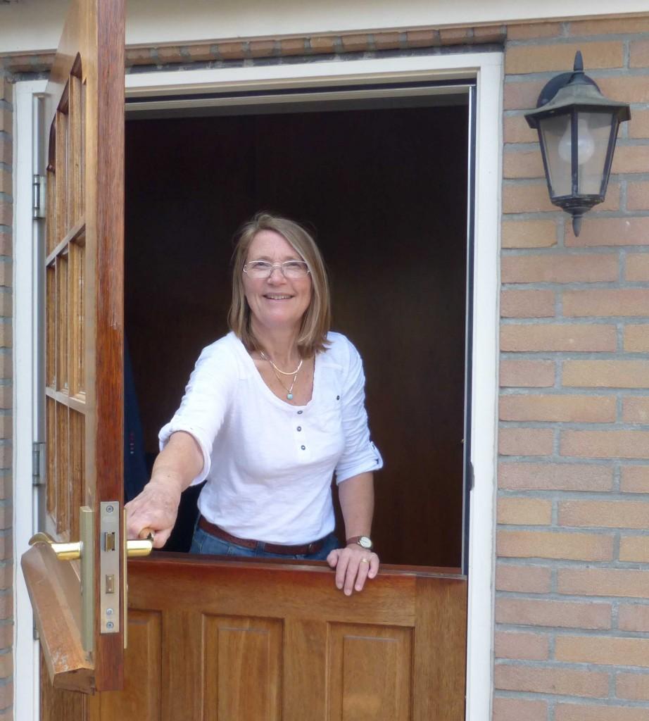 Martha in door for Gravatar