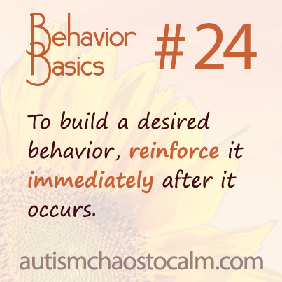 autism ABA tagteach behavior