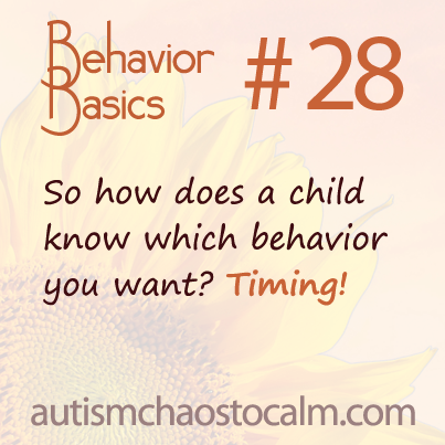 autism tagteach behavior