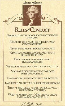 autism, choice, Thomas Jefferson's rules