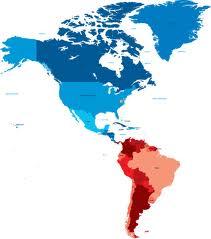 Western hemisphere graphic