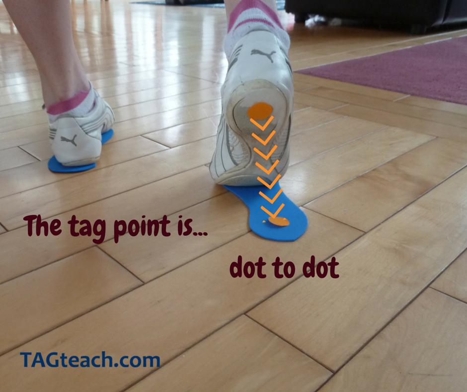 toe-walking-tag-point